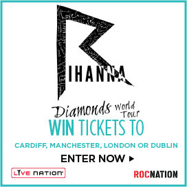 RIHANNA DIAMOND WORLD TOUR WIN TICKETS