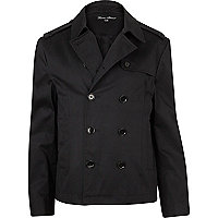 Black smart mac jacket