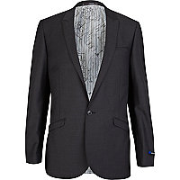 Grey suit smart jacket