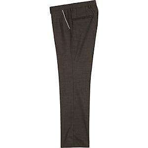 Grey slim fit pants