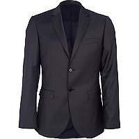 Navy new classic fit suit jacket