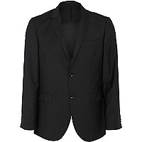Black new classic fit suit jacket