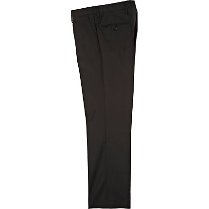 Black new classic fit suit trousers