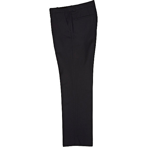 Navy smart classic trousers