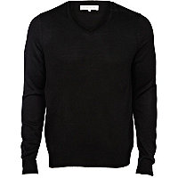 Black acrylic jumper