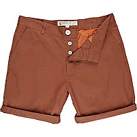Brown - brick shorts
