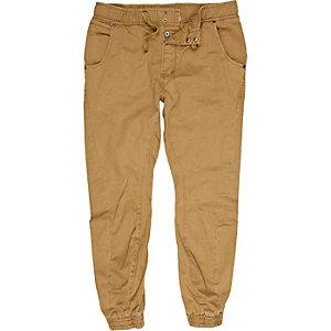 Tobacco jogger pants