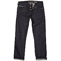 Dark wash denim slim jeans