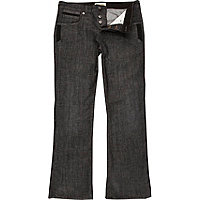 Black denim clint bootcut jeans