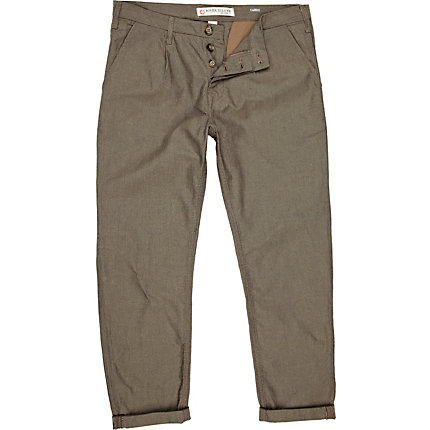Brown carrot chinos