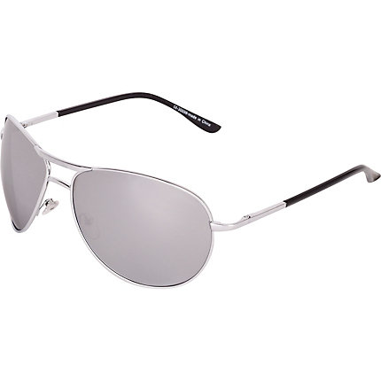 Grey lens mirror sunglasses