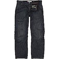 Dark wash denim Carter slouch jeans