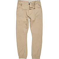Stone jogger trousers