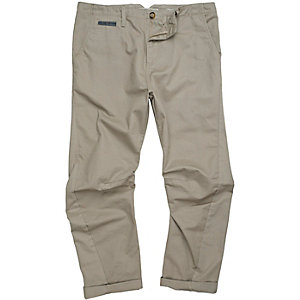 Stone casual trouser