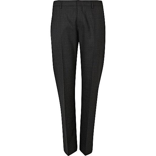 Grey classic suit pants
