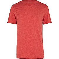 Red marl t-shirt