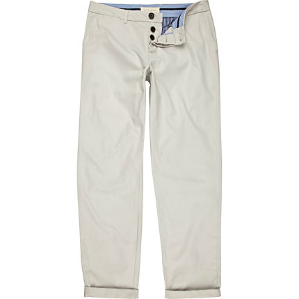 Light stone chinos