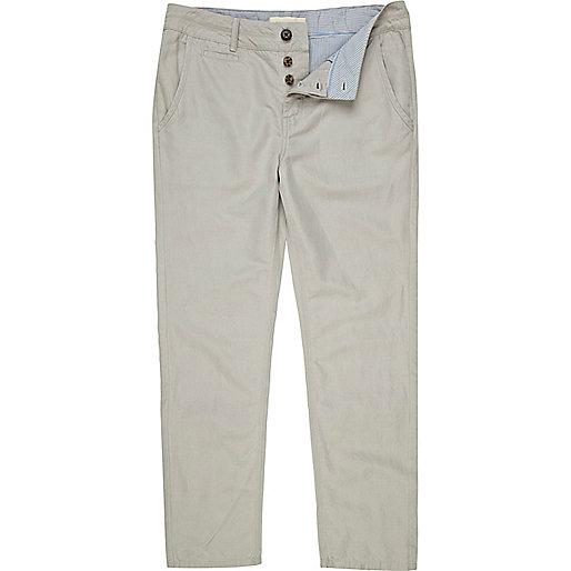 Stone slim trousers