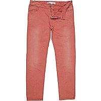 Pink stretch skinny sid jeans