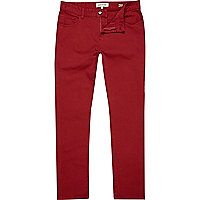 Red Sid stretch skinny jeans