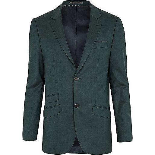 Green suit jacket
