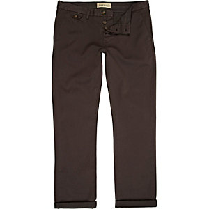 Brown slim chinos