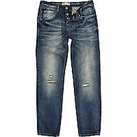 Dark faded wash Dylan slim jeans