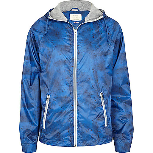 Blue lightweight jacket