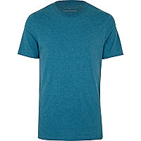 Teal plain t-shirt
