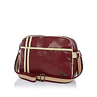 Dark red Dunlop vintage bag
