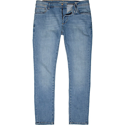Light blue Sid stretch skinny jeans