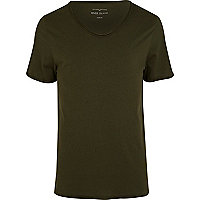 Dark green t-shirt