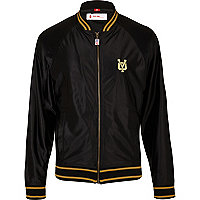 Black Your-Own track jacket