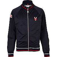 Navy Your-Own track jacket