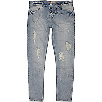 Light wash Flynn skinny jeans