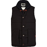 Navy Holloway Road Carlton gilet
