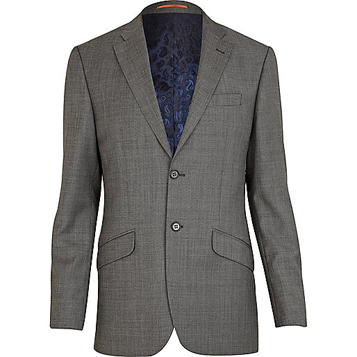 Grey Life Of Tailor suit jacket