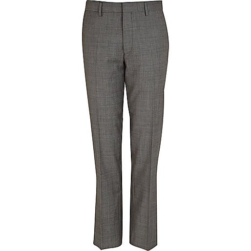Grey Life Of Tailor suit trousers