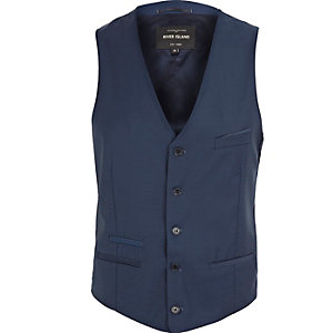 Blue smart Fisher vest