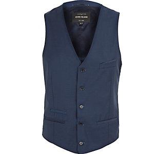 Blue smart Fisher vest
