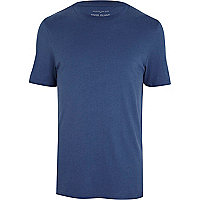 Petrol blue plain t-shirt