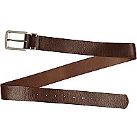 Brown buffalo belt