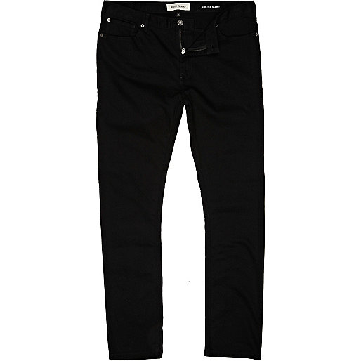 Black Sid skinny stretch jeans