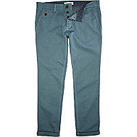 Aqua turn up casual slim chinos