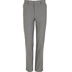 Grey smart skinny fit pants