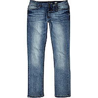 Light wash Sid skinny stretch jeans