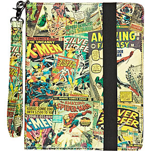 Red Marvel iPad case
