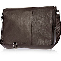 Brown flap over bag