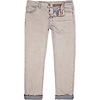 White wash Dylan slim jeans