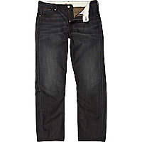 Dark wash Dean straight cut jeans